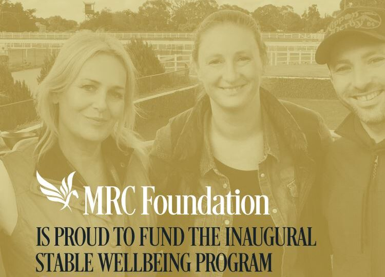 Stable Wellbeing Program_Melbourne Racing. Image 2